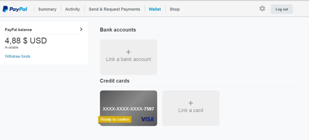 data kartu kredit paypal
